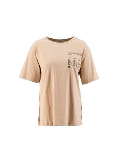 Setre Bej T-Shirt Şort Takım Bej